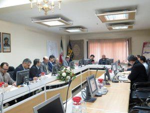 جلسه هماهنگی با مدیران طرح در خصوص فاز اختتام پروژه های فاز اول طرح ۵۵۰ هزار هکتاری