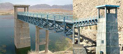 خط انتقال آب سد دره بید (برج آبگیر)-طبس