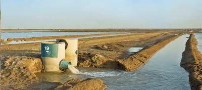 تکمیل شبکه توزیع نواحی عمرانی و زهکشی ناحیه 1 خرمشهر