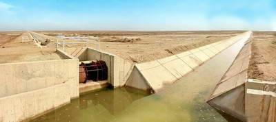 شبکه آبیاری و زهکشی عطابیه-هویزه خوزستان