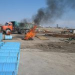 مانور های عملیات اتفای حریق در کارگاه ها