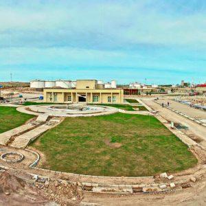 احداث بلوار اصلی و محوطه سازی پالایشگاه گاز شهید هاشمی نژاد خانگیران-سرخس